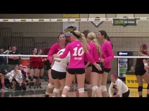 Miron Guides NDSU Volleyball to 3-1 Win Over Omaha