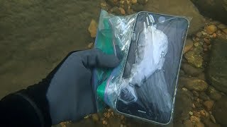 River Hunting: Found 4 iPhones, 2 Cameras, Wallet, and lots of MONEY! | Nugget Noggin thumbnail