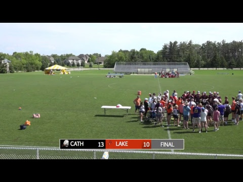 High School National Invite 2017: Catholic v. Lakeside (Boys' Final)