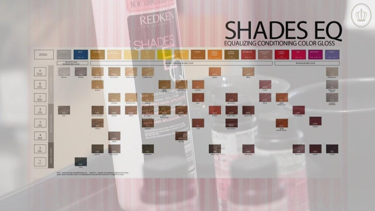 Redken Shades Eq Hair Color Mixer The La Collection Youtube