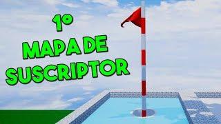 PRIMER MAPA CREADO POR SUSCRIPTOR! - GOLF IT