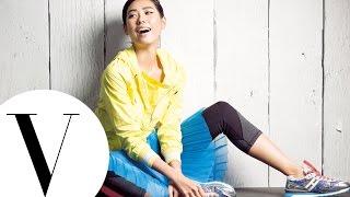 林可彤 超簡單瘦腿 翹臀3招|女模愛運動|Vogue Taiwan