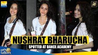 NUSHRAT BHARUCHA Spotted At Satyam Dance Academy
