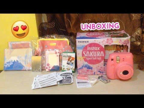 UNBOXING 101: INSTAX MINI 9 SAKURA SPECIAL KIT + DEMO