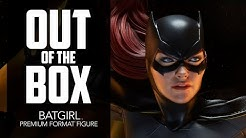 Batgirl Premium Format by Sideshow Unboxing   Out of the Box