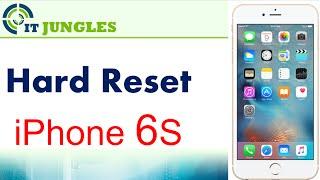 iPhone 6S: How to Hard Reset (3 Ways)