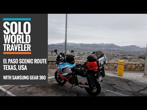 El Paso Texas, Scenic Climb in 360 Degrees