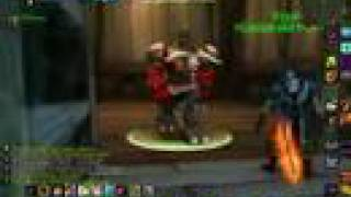 level 40 warrior with mount on arathi 30-39