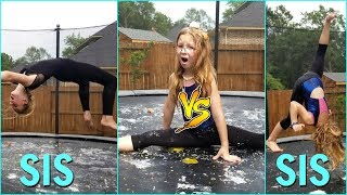 Sis Vs Sis Memory Gymnastics Challenge Gone Wrong! - Magic Box