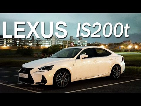 Lexus 2017 IS200t 跑格新實力 試駕- 廖怡塵【全民瘋車Bar】37