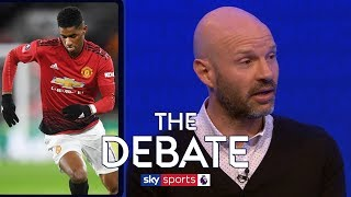 Did Mourinho not have enough trust in Marcus Rashford? | The Debate | Danny Mills & Phil Thompson