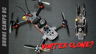 VORTEX CLONE? - MANA 285mm Fpv Racer Review & Flight