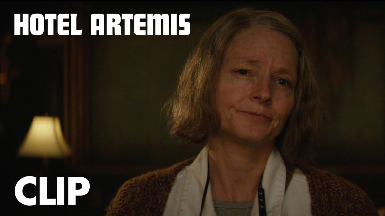 "Hotel Artemis | ""Verify Your Membership"" Clip | Open Road Films"