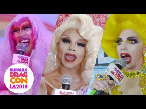 "Queens React to ""Miss Vanjie"" at RuPaul's DragCon 2018: LA"