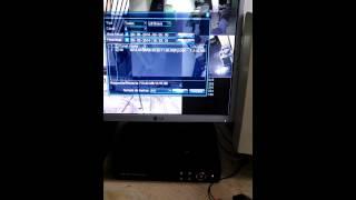 DVR H-264 8 canais: Fazendo backup das imagens.