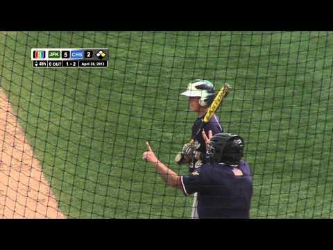 High School Varsity Baseball John F. Kennedy vs. Colonia @ TD Bank Ball Park April 28, 2013