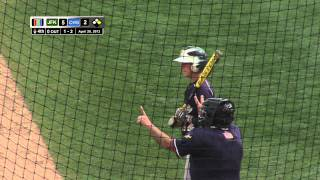 High School Varsity Baseball John F Kennedy vs Colonia  TD Bank Ball Park April 28 2013