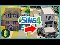 Trash the House, 1984 NUCLEAR FALLOUT Style! (Sims 4 House Build)