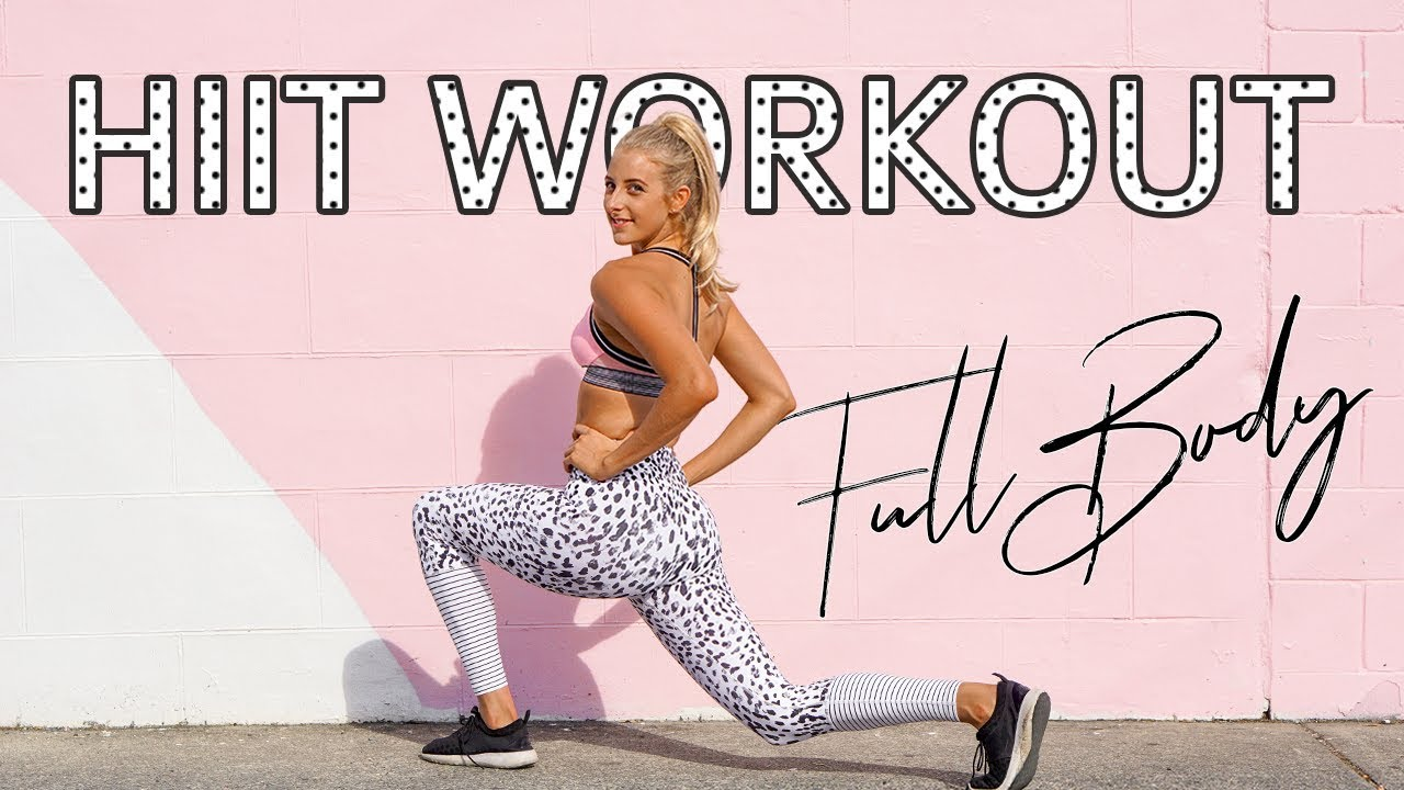 Full Body Fat Burning Circuit | The 7 Benefits of HIIT That You MUST Know + Why I Love It