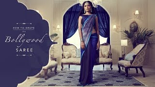 The Mermaid Style Saree Drape | Bollywood Inspired Lookbook!