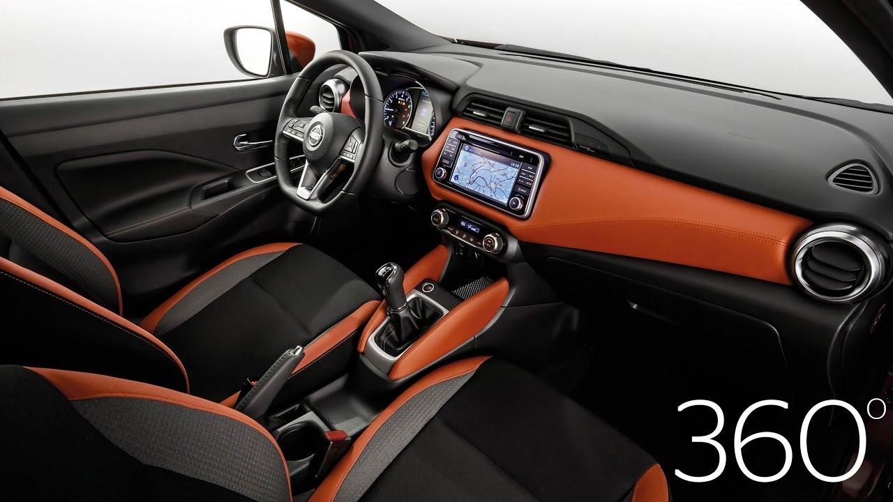 2017 Nissan Micra - 360 interior tour   Autocar promoted - YouTube