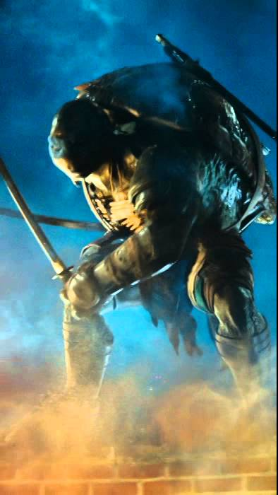 teenage mutant ninja turtles leonardo motion poster de