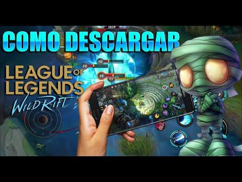 COMO DESCARGAR (LEAGUE OF LEGENDS WILD RIFT)APK + OBB/LOL ...