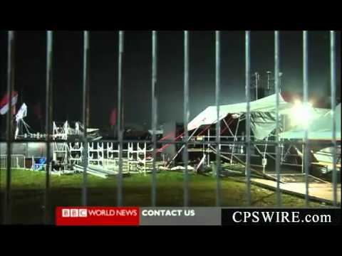 Pukkelpop Music Festival Storm Hits Near Hasselt Belgium, 4 Killed 40 Injured