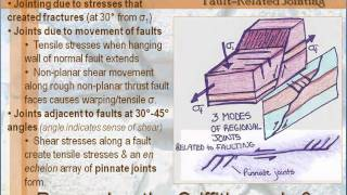 Structural Geology - Lesson 6 - Joints & Veins: Regional Systems - Part 1 of 4