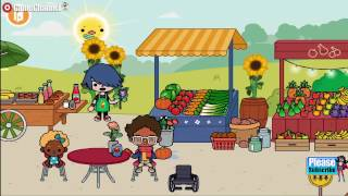 Toca Life Farm - Education Pretend play - Videos Games for Kids - Girls - Baby Android