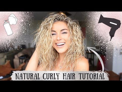 My Natural Curly Hair Tutorial   How to with Angelique Cooper