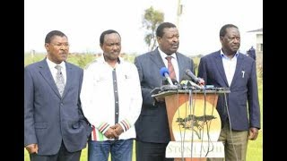 """Video The """"game of chicken"""" in NASA leaves Wetangula in the cold 