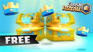 Clash Royale / FREE CROWN CHEST / Giving People Free Crowns!