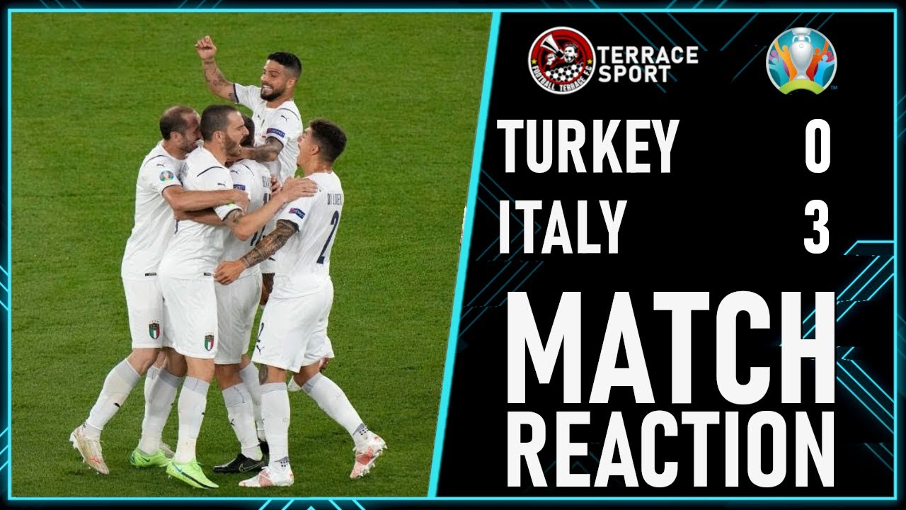 Italy DESTROY Turkey! Turkey 0-3 Italy Match Highlights | Euro 2020