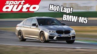 BMW M5 Competition | Hot Lap Hockenheim GP | sport auto