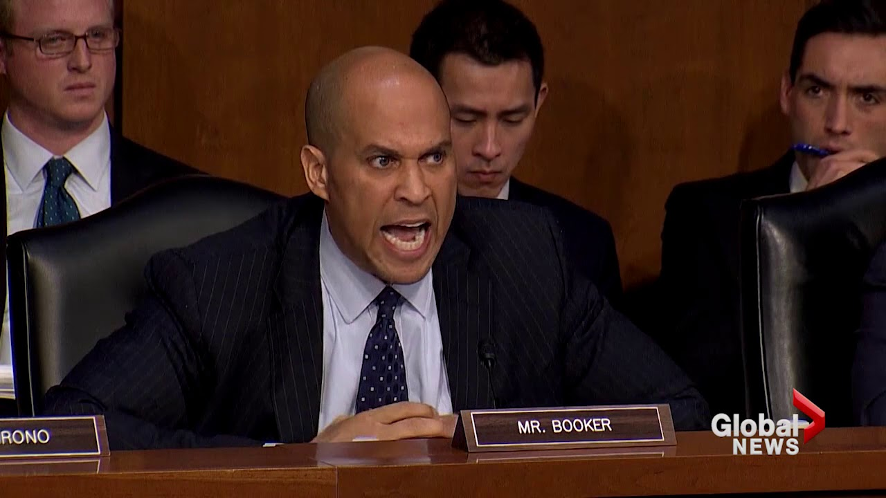sen cory booker tears into homeland security director over trump s