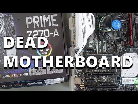 Dead Motherboard - A Major Mining Headache