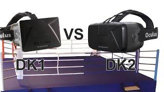 Oculus Rift - Różnice między DK1 a DK2