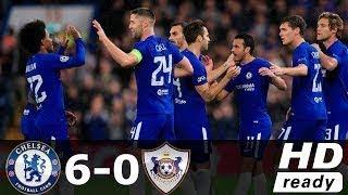 Chelsea vs Qarabag 6-0 Résumé et Tous les Buts 12/09/2017 HD