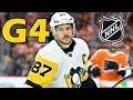 Pittsburgh Penguins vs Philadelphia Flyers. 2018 NHL Playoffs. Round 1. Game 4. 04.18.2018. (HD)