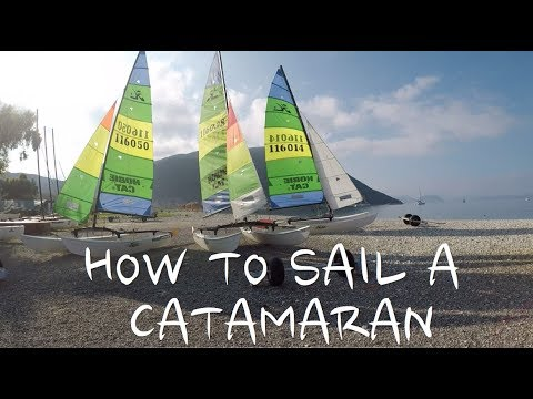 Basics Of Cat Sailing - Points Of Sail, Sheet And Traveller Settings
