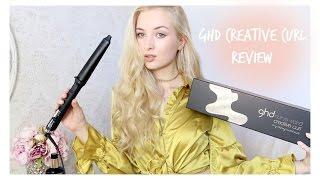 How I Curl My Hair // GHD Creative Curl Wand Review!