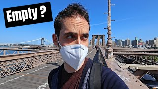 The Brooklyn Bridge Without Tourists ? ?  (Life in NYC During Quarantine)
