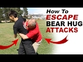 Self Defense Bear Hug Escape - How to Escape from a Bear Hug