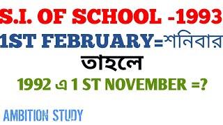 482. SUB INSPECTOR OF SCHOOL-1993 MATHEMATICS PROBLEM SOLVE