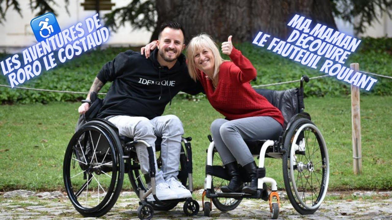 Ma MAMAN dans un fauteuil roulant !!!