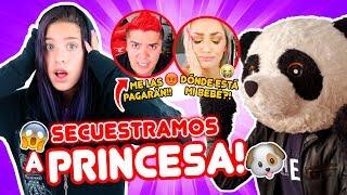 24 HORAS ESPIANDO A KATIE ÁNGEL Y OSO ft PANDA | leyla Star 💫