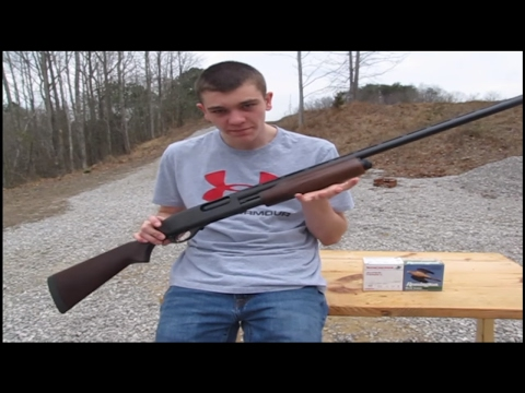 Remington 870 - Walmart Shotgun - YouTube