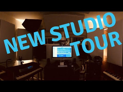 NEW STUDIO TOUR! - How To Build a Professional Recording Studio In 1 Room