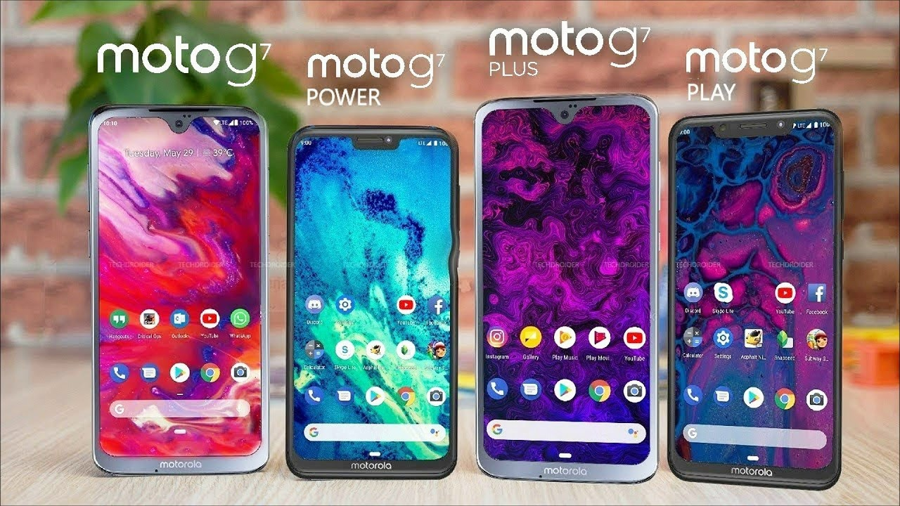 Motorola Moto G7 Plus and Unboxing in English